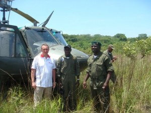 """Группа инженерной разведки в Анголе, """"потерявшаяся"""" на трое суток."""