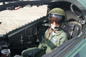 В кабине летчика