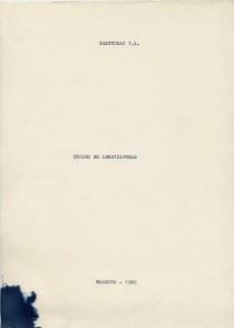 Codigo de Abreviaturas 1985_001