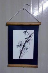 Бамбук (бумага, тушь)